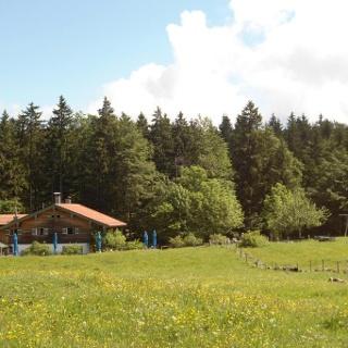 Frasdorfer Hütte im Sommer