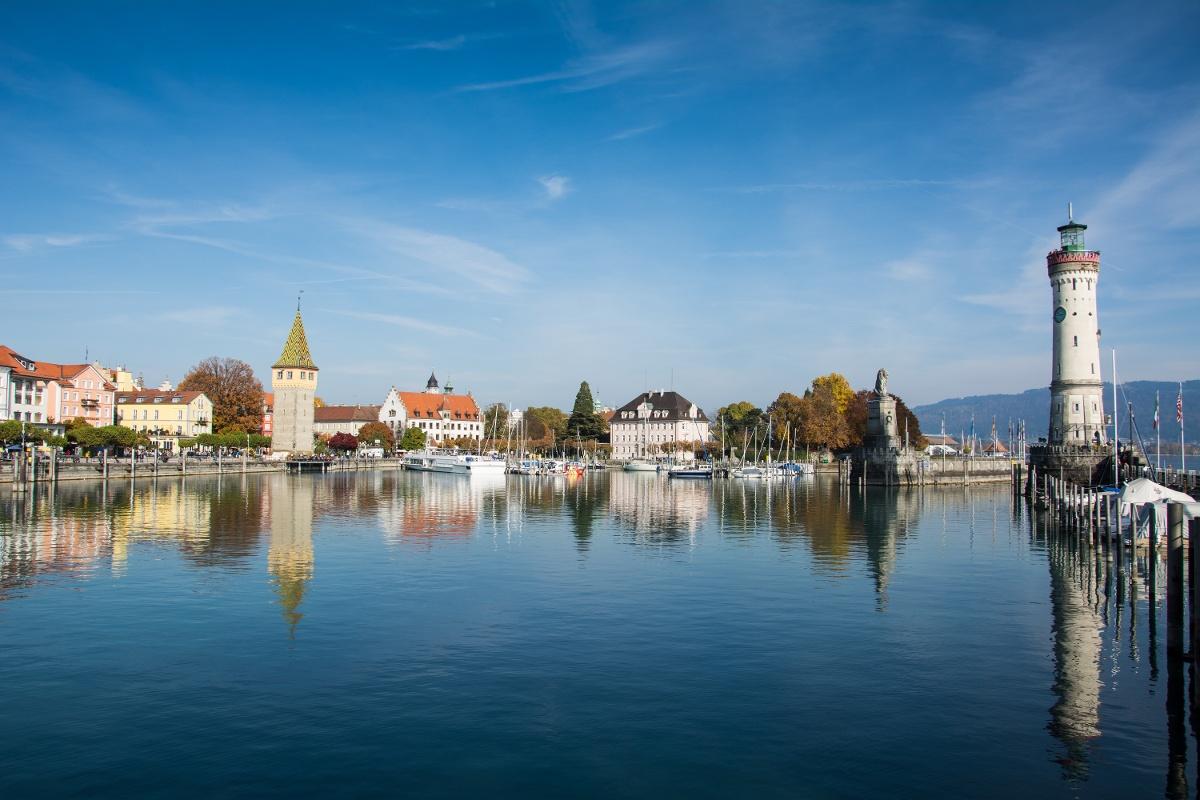 Mit Dem Rad Von Lindau Nach Konstanz Am Bodensee Entlang