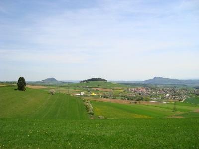 In der Mitte der Wannenberg
