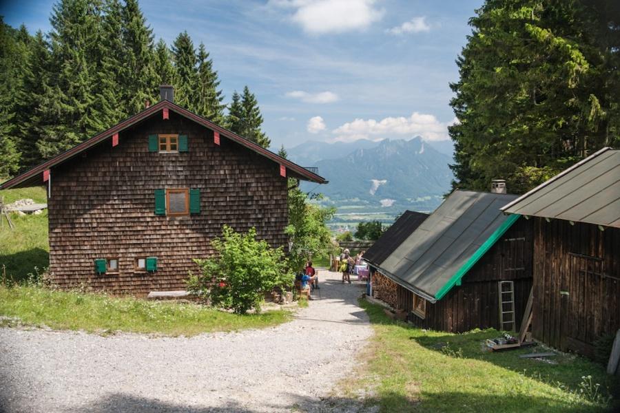 Wandern von Brannenburg aus - Almentour