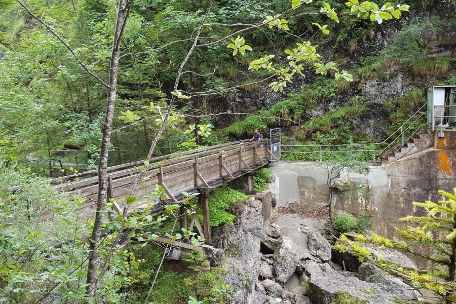 Wandern von Kiefersfelden aus - Gießenbachklamm mit Schopperalm !!! Momentan augrund eines Brückenschadens gesperrt !!!