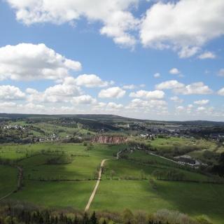 Blick vom Luisenturm auf dem Geisingberg