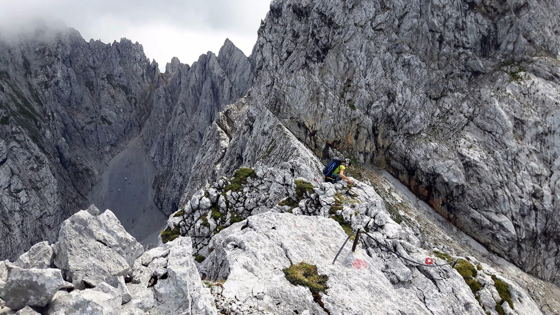 Klettersteig Wilder Kaiser : Kaiserschützen klettersteig Österreichs wanderdörfer