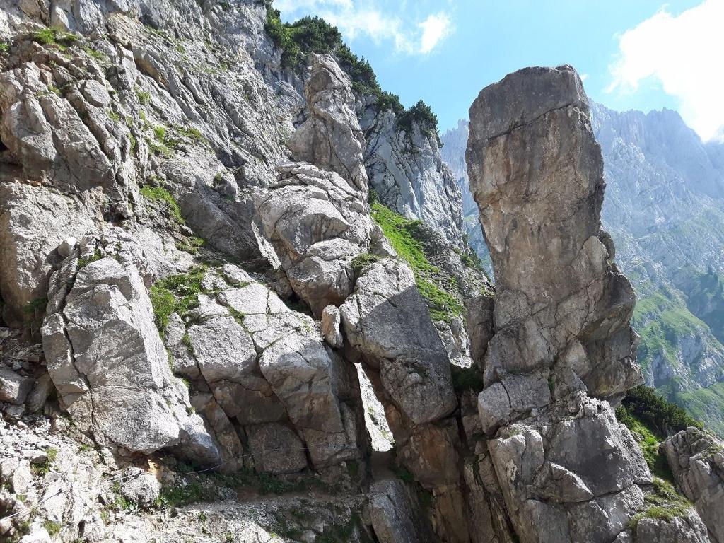 Klettersteig Klamml : Eisenkrone jubiläumssteig klettersteig klamml tag