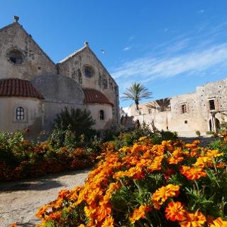Wanderung auf Kreta: Nationalheiligtum Arkadi