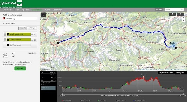 Steiermark Tourenplaner