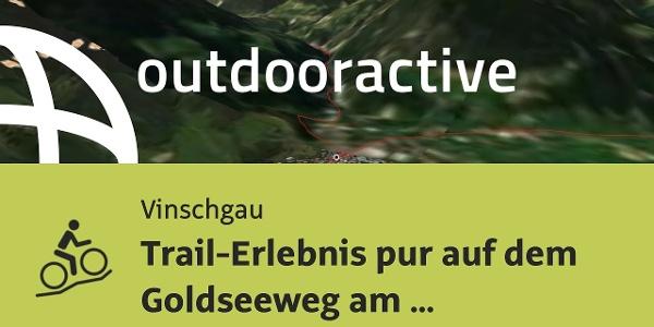 Mountainbike-tour im Vinschgau: Trail-Erlebnis pur auf dem Goldseeweg am Stilfser Joch