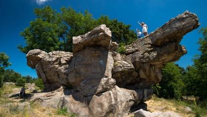 The sea of rocks at Szentbékálla