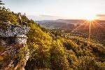 Sonnenaufgang am Hangenden Stein
