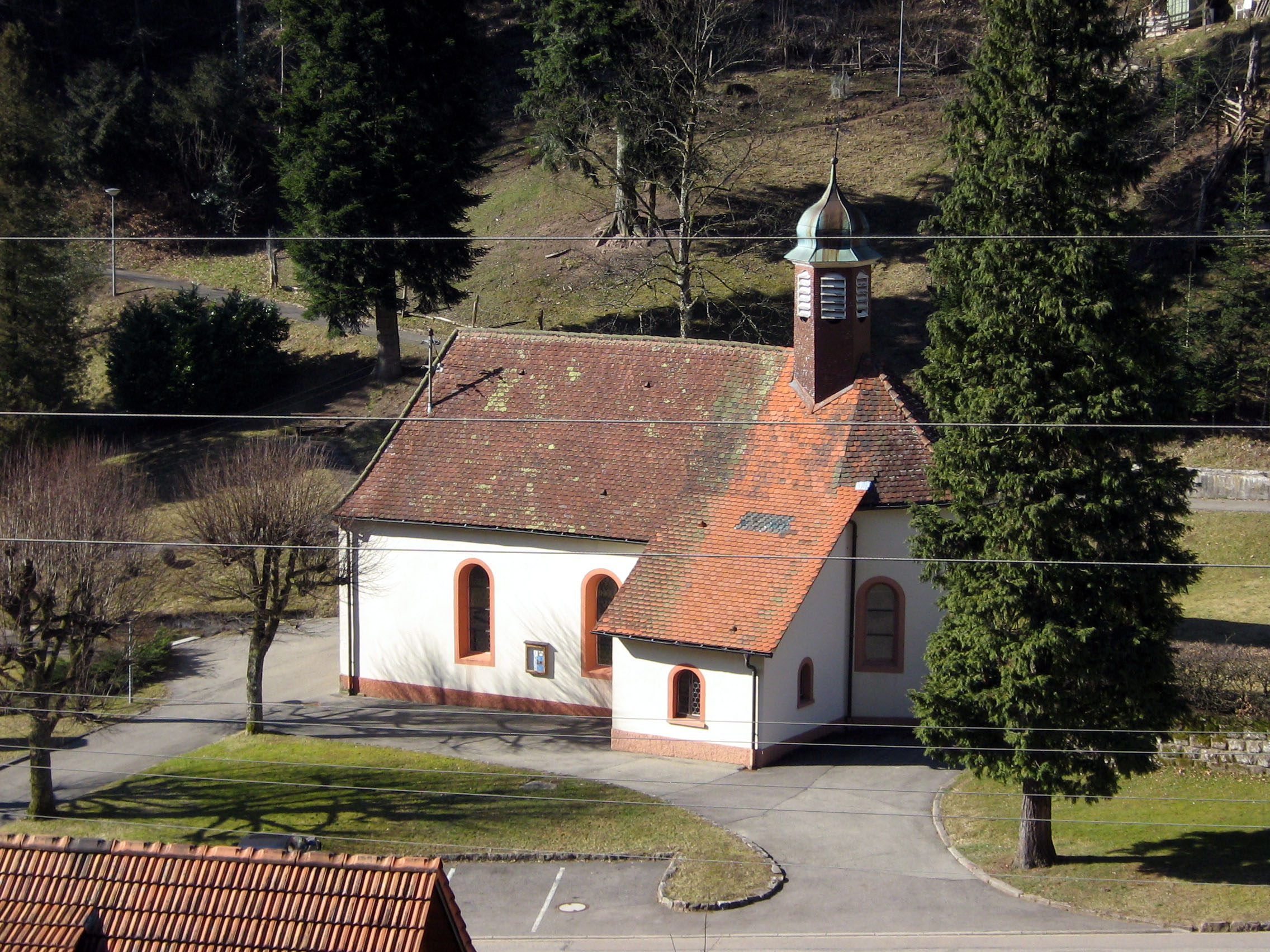 St. Nepomuk-Kapelle in Nordrach-Kolonie