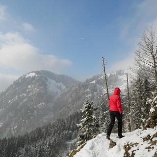 Aussichtsreicher Wanderweg vom Ifenblick nach Bad Hindelang
