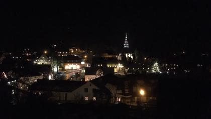 Winterabend mit Seiffner Kirche