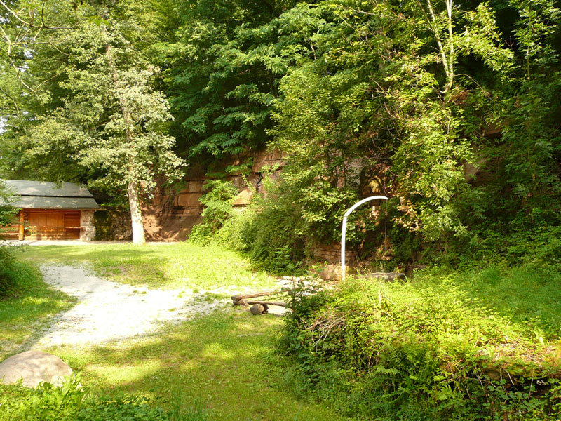Werksteinbruch mit Albvereinshütte und Grillplatz   - © Quelle: Gemeinde Bühlerzell