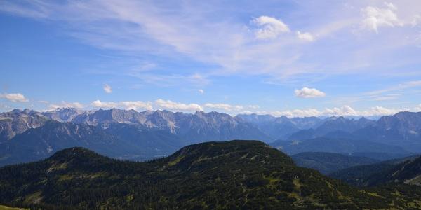 Karwendel vom Estergebirge