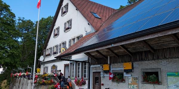 Bergrestaurant Hinterweissenstein.
