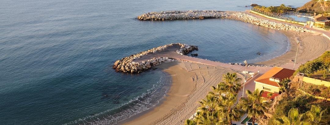 Strand von Benalmádena an der Costa del Sol