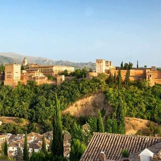 Vista a la Alhambra