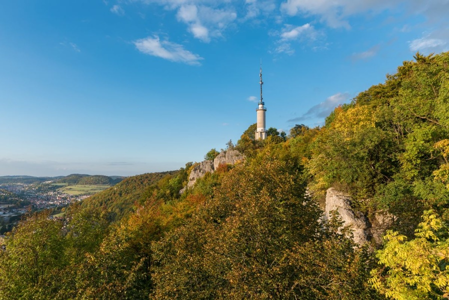 Traufgang Schlossfelsenpfad in Albstadt