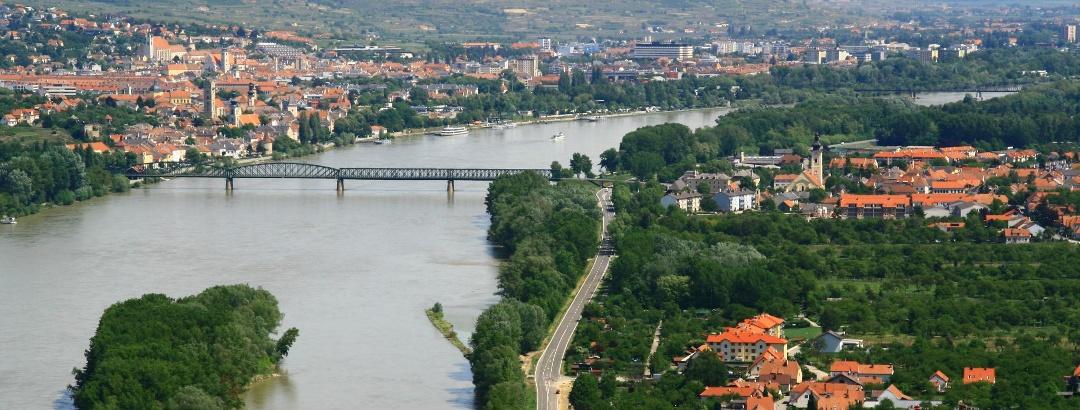 Blick von der Ferdinandswarte (Stadtgemeinde Mautern)