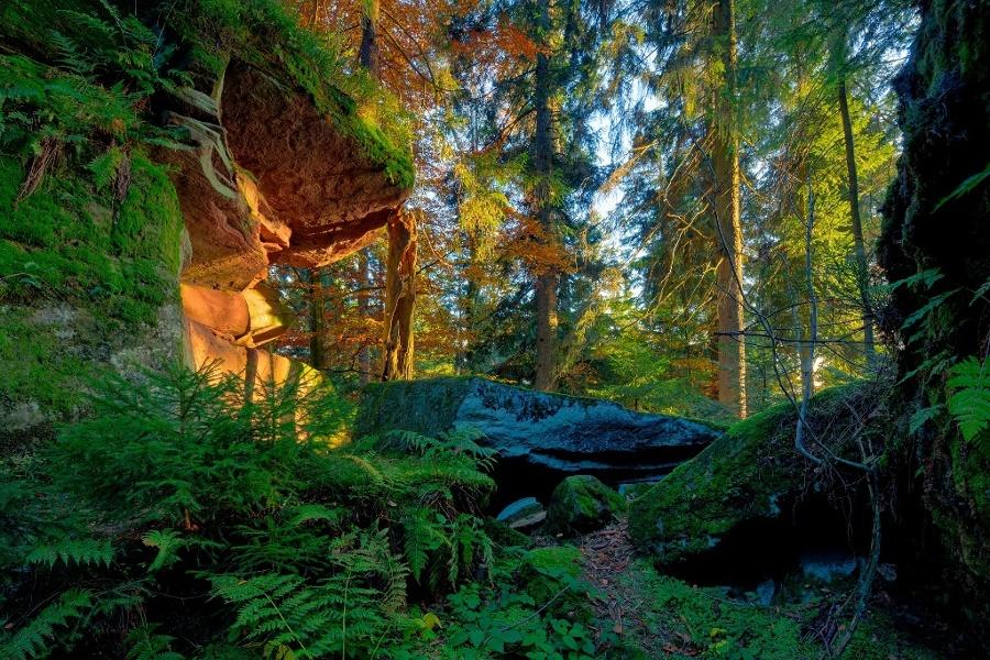 Nordrach - Naturdenkmal Heidenkirche