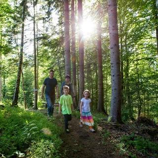 Wandern mit der Familie