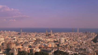Barcelona - Blick vom Park Güell