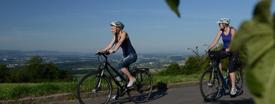 Radfahren auf dem Hohenstaufen