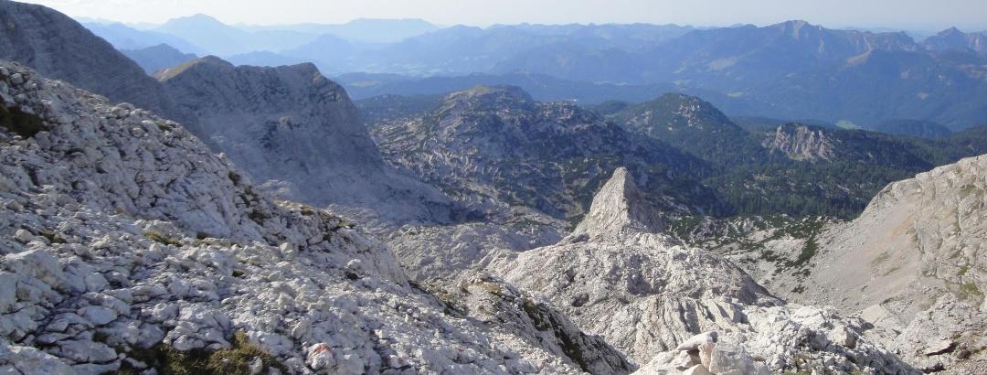 Blick in die Felslandschaft