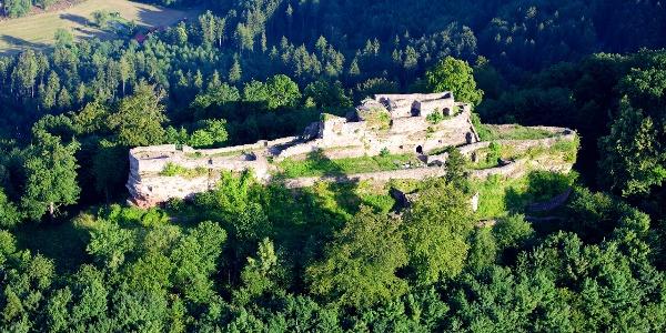 Wegelnburg zwischen Nothweiler und Schönau
