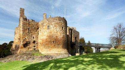 Dirleton Castle near North Berwick
