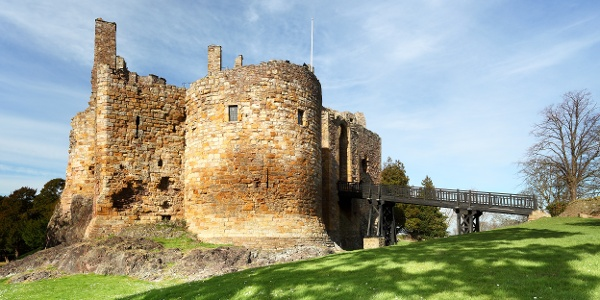 Dirleton Castle near North Berwick