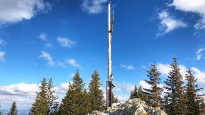 Gipfelkreuz der Alpspitze