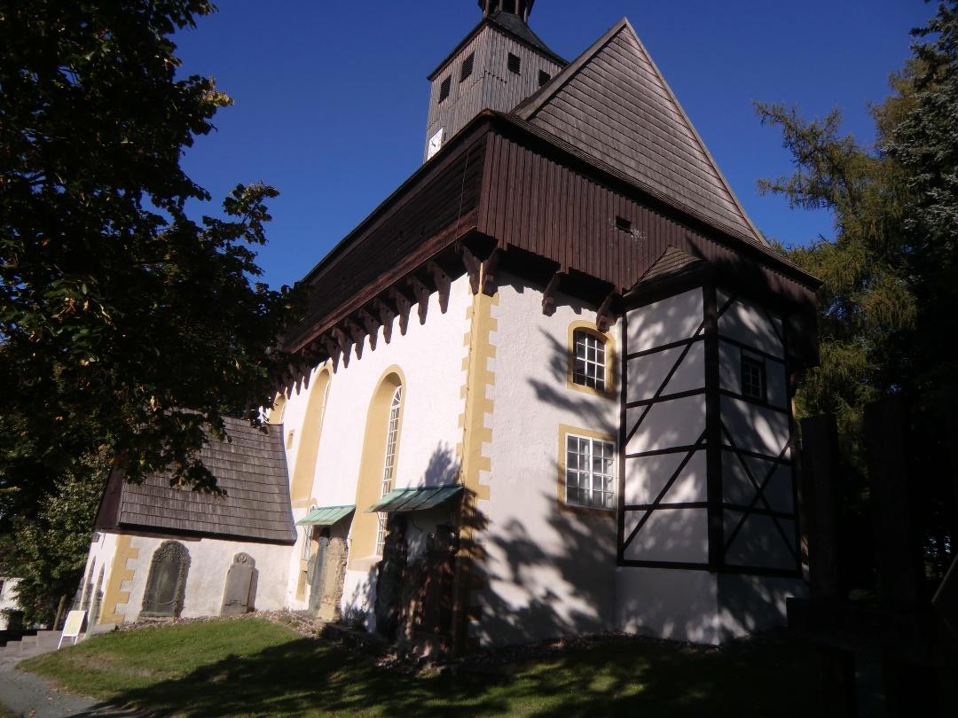 Wehrkirche Großrückerswalde