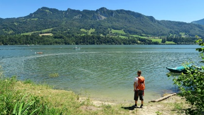 Am Greyerzersee bei Morlon Les Planches.