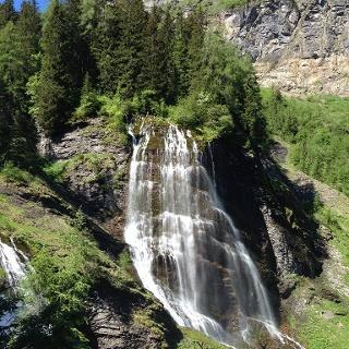 Cascade de la Pleureuse et de la Sauffraz