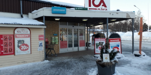 ICA Forsa i snö