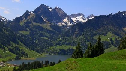 Blick auf den Schwarzsee.