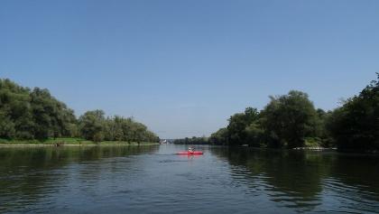 Bootstour auf der Donau zwischen Vohburg und Eining