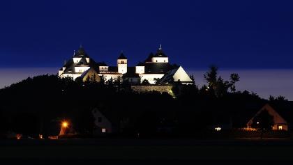 Schloss Augustusburg bei Nacht