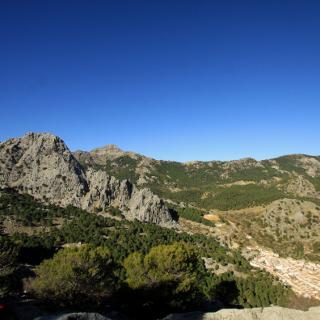 Grazalema , Blick vom Cruz Picacho