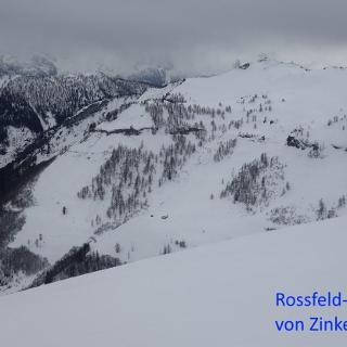 Rossfeld-Rücken aus Blickrichtung Zinkenort