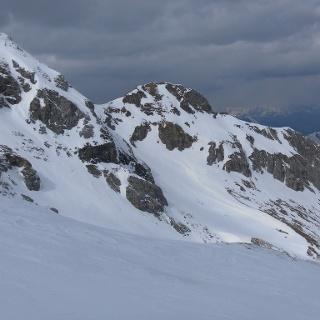Hintere und Vordere Großwandspitze