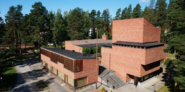 Säynätsalo Town Hall by Alvar Aalto