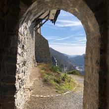 Auf der Burg