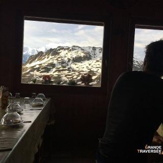 Vue depuis le refuge Moëde-Anterne