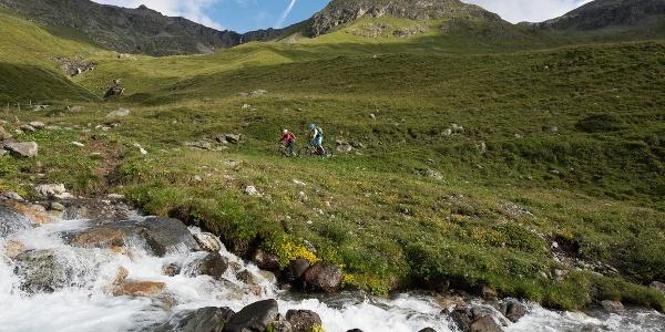 Biken im Val da Fain