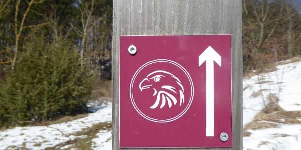 Logo des Habichtswaldsteigs