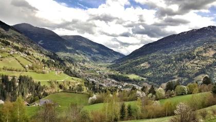 Ausblick auf Radenthein und Umland