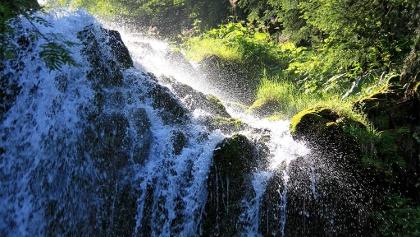 Wasserfall unterhalb Emmensprung.