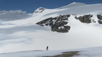 Gipfelblick nach Nord zum Schattseitköpfl,  Vd.+ Mtl. Bärenkopf.